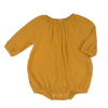 Wilder Bubble Bodysuit, Mustard