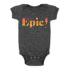 Epic Bodysuit, Dark Grey