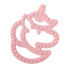 Silicone Baby Teether, Pink Unicorn