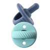 Pacifier 2-Pack, Navy/Robin's Egg Cable