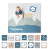 Muslin Blanket & Memory Card Set, Mountains
