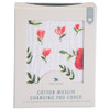 Muslin Changing Pad Cover, Summer Poppy