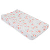 Muslin Changing Pad Cover, Pink Ladies
