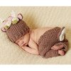 Deer Newborn Set, Flowers