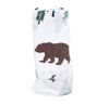 Bamboo Swaddle, Black Bear