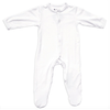 Bamboo Footed Romper, Cloud