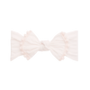 Trimmed Knot Bow, Ballet Pink