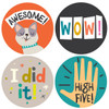 Let's Celebrate!  Milestone Baby Stickers (12), Lucy Darling