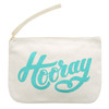 Hooray Pouch Little Canvas Pouch