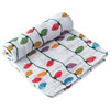 Limited Edition Muslin Swaddle, Christmas Bulbs