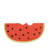 Hevea Teether, Wally Watermelon