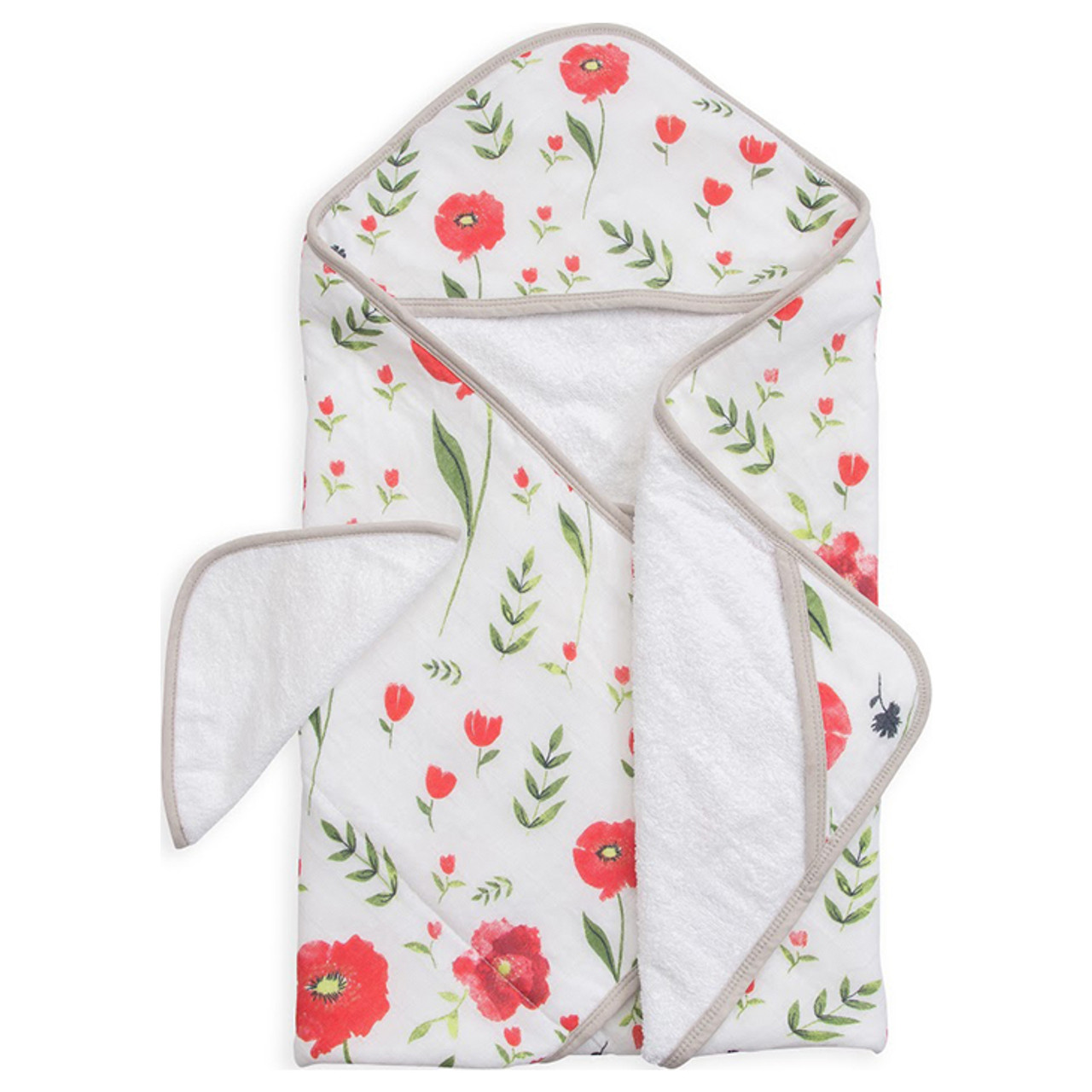 Baby Girl Hooded Towel /& Washcloth Set Owl Pink White Layette Gift