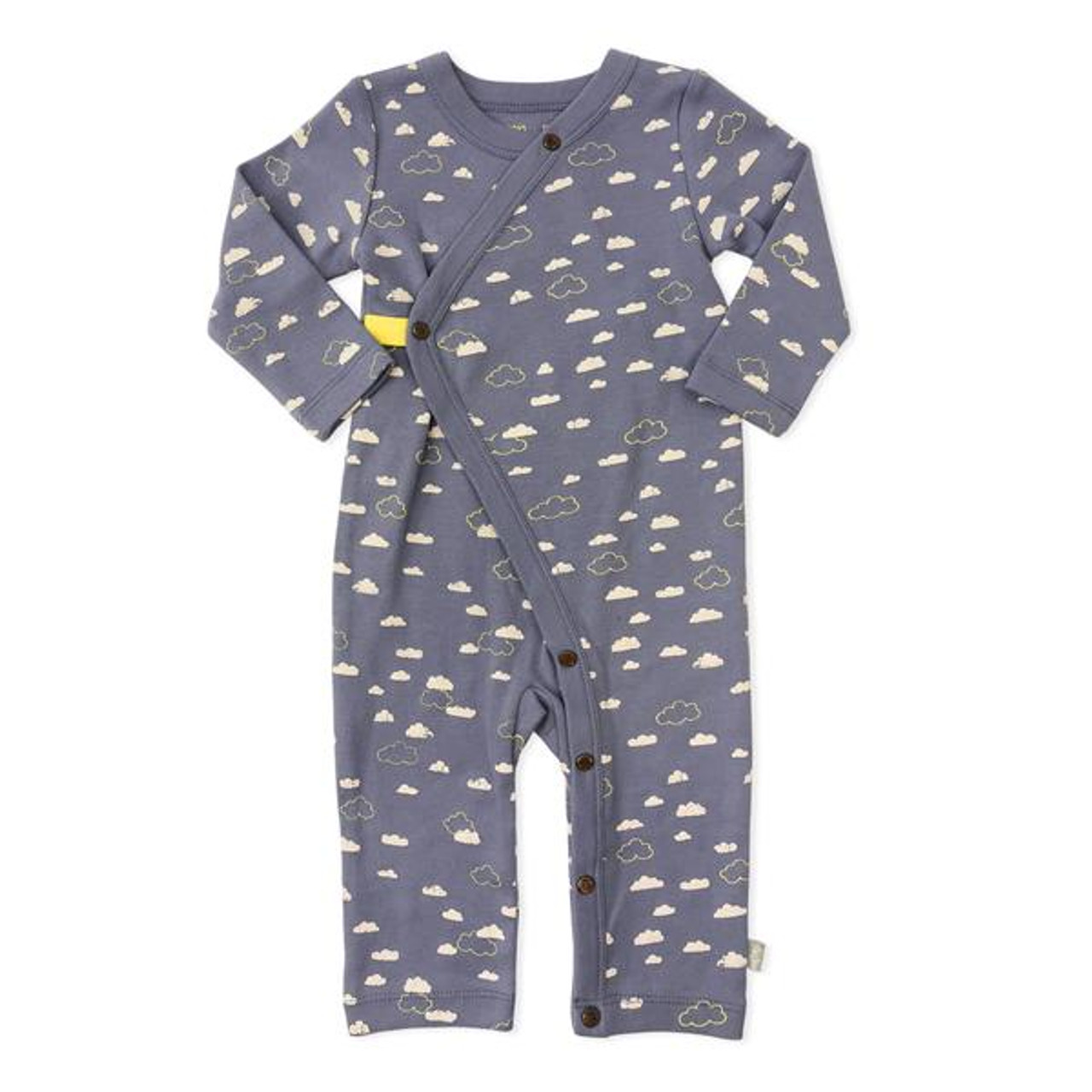 638e9aea60c Organic Cotton Coverall, Cloudy Sky - Spearmint Ventures, LLC