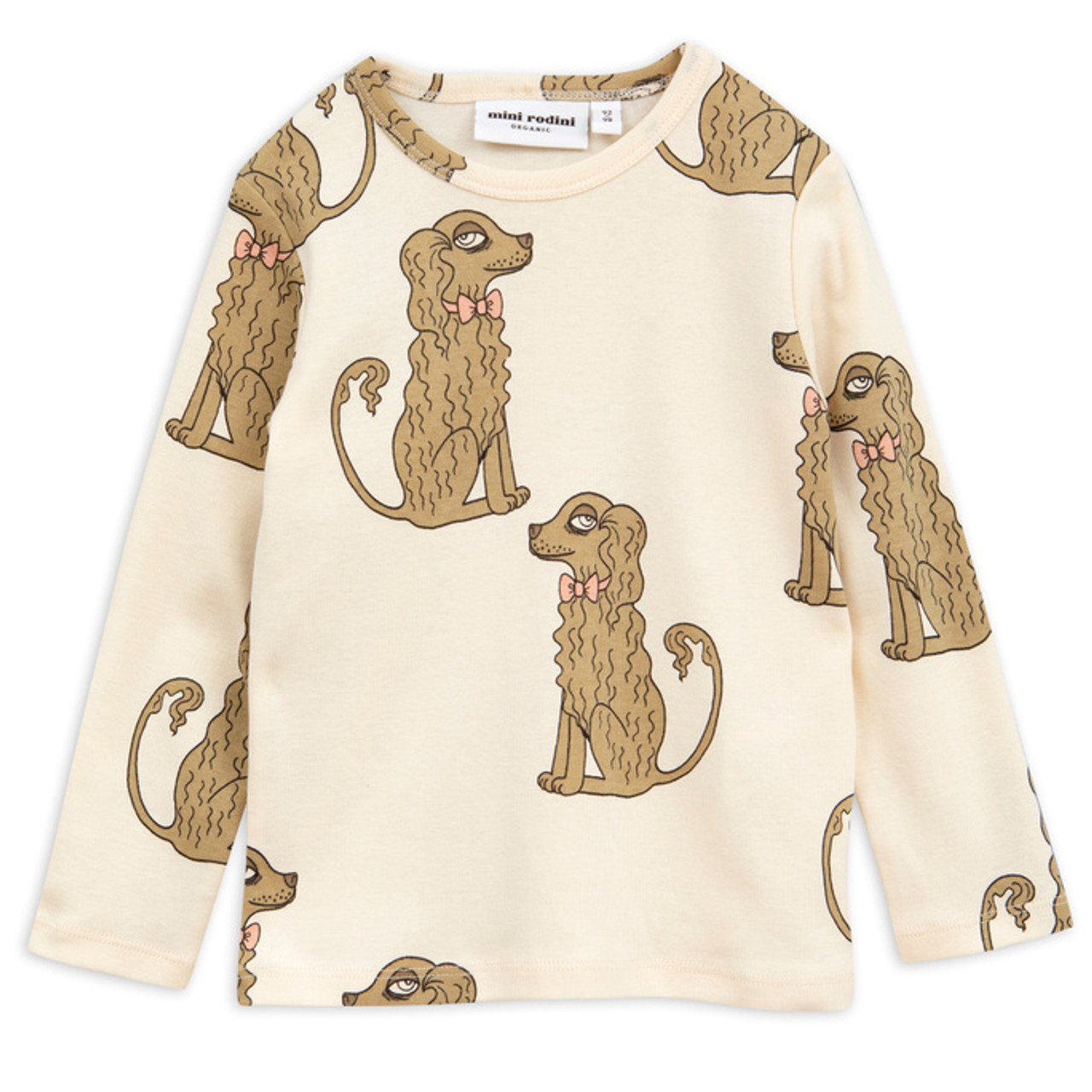 bccf9b770a Mini Rodini Long Sleeve Spaniel Tee - Spearmint Ventures, LLC