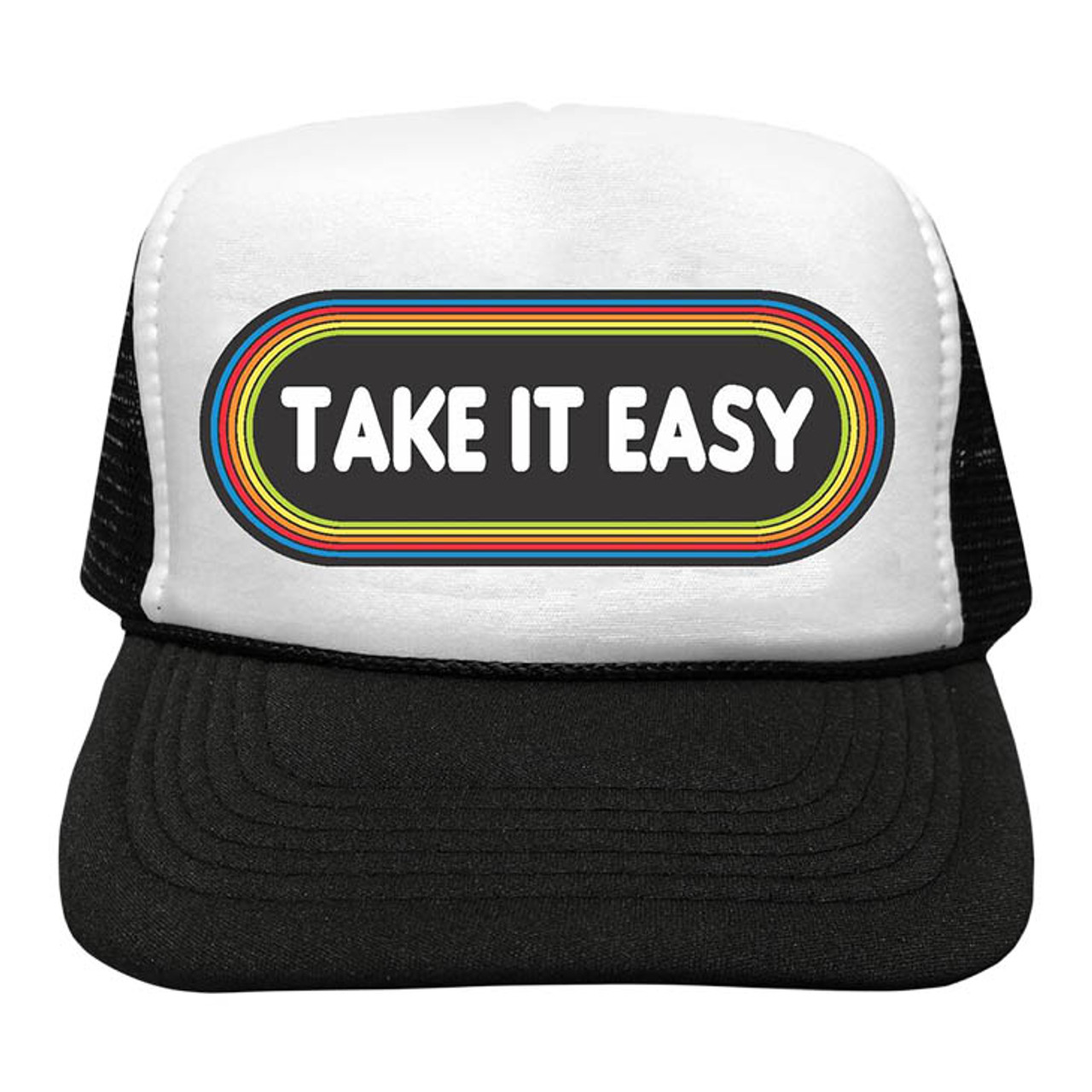 83c0be54e44 Take It Easy Mesh Trucker Hat - Spearmint Ventures