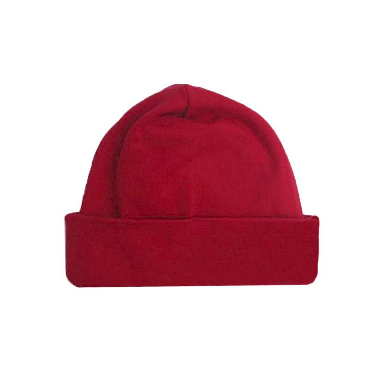 b1b01f6df69d5e Organic Baby Hat, Crimson - Spearmint Ventures, LLC
