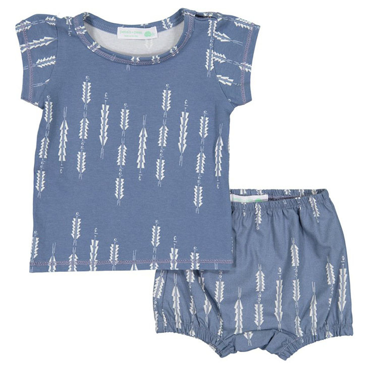 aa20b8100 Shirt & Bloomer Set, Night Sky - Spearmint Ventures, LLC