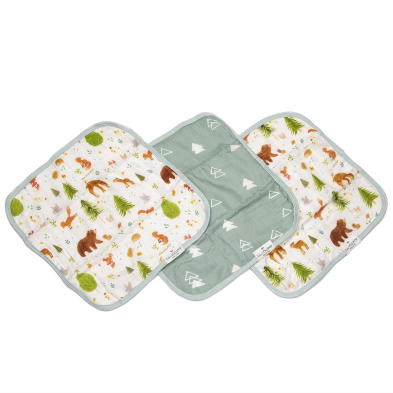 Forest Animals Bamboo Set