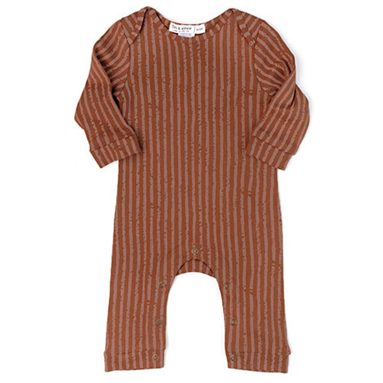69f901b528cd8 Fin & Vince Stripe Romper - Spearmint Ventures, LLC
