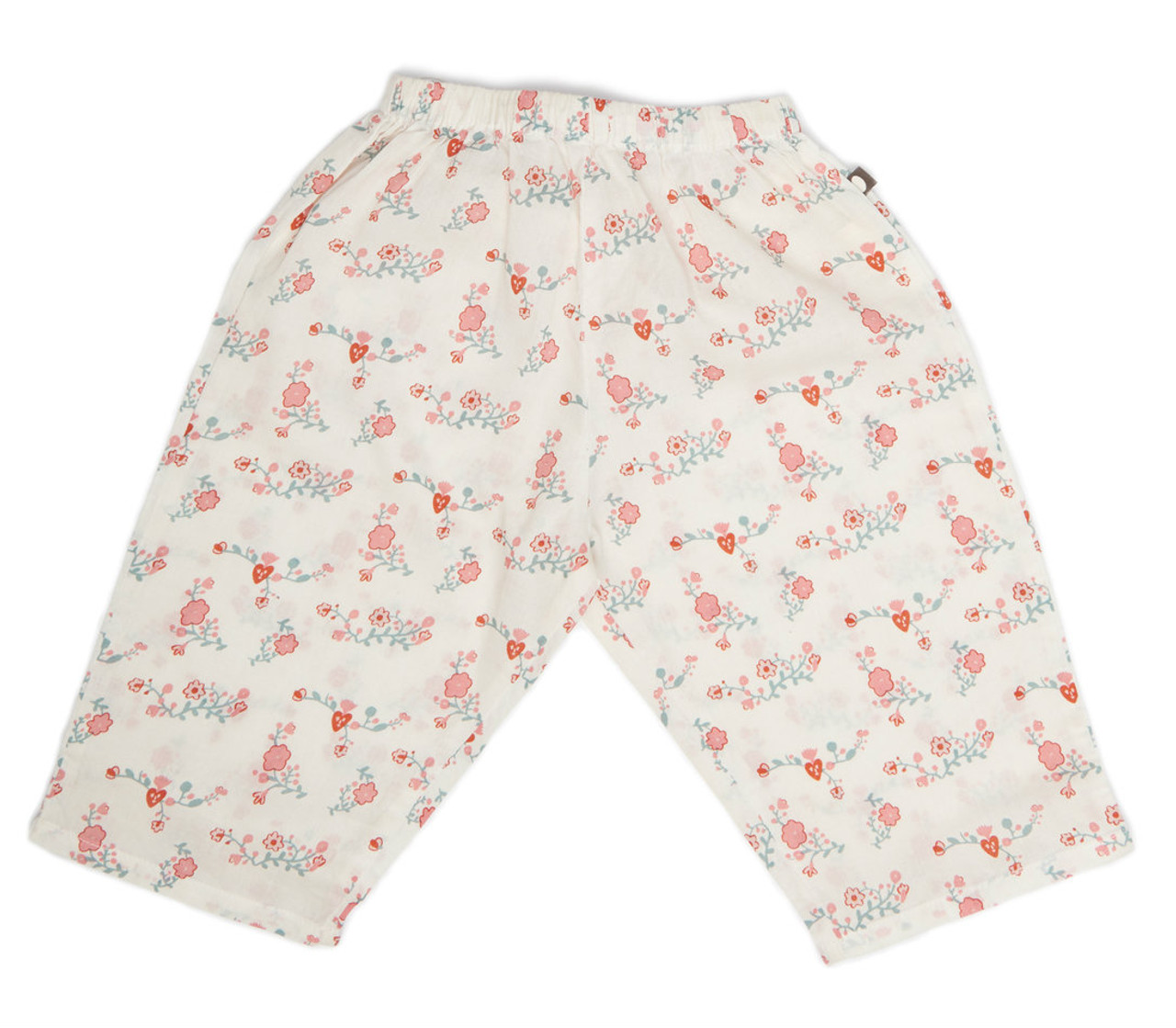 cb1201ee1a32 Oeuf baby pants white flowers spearmint ventures llc jpg 1088x951 White  flowers shorts