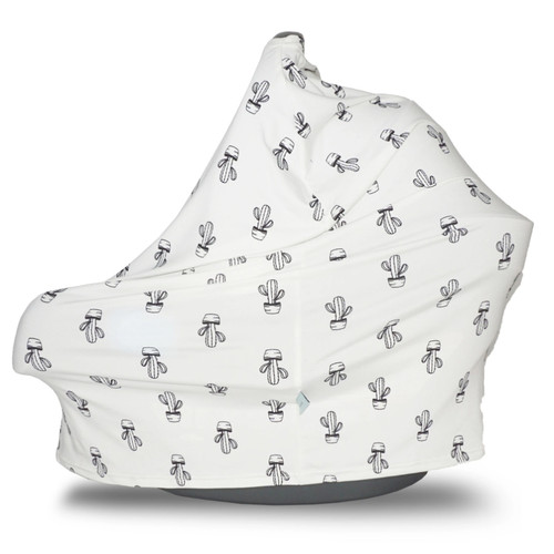 Covered Goods Multi Use Car Seat Cover, Cactus