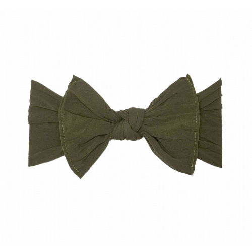 Knot Bow, Army Green