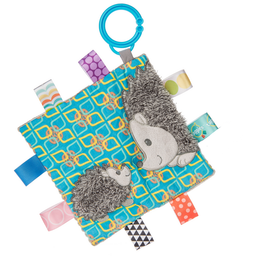 Taggies Crinkle Stroller Toy, Mommy & Baby Hedgehog