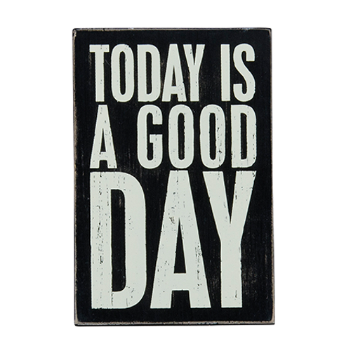 Today Is A Good Day Wooden Postcard