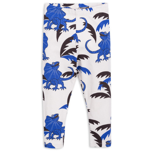 Mini Rodini Draco Leggings, Blue