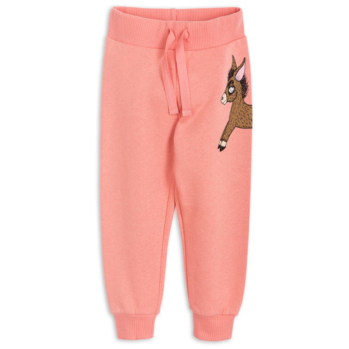Mini Rodini Donkey Sweatpants, Pink