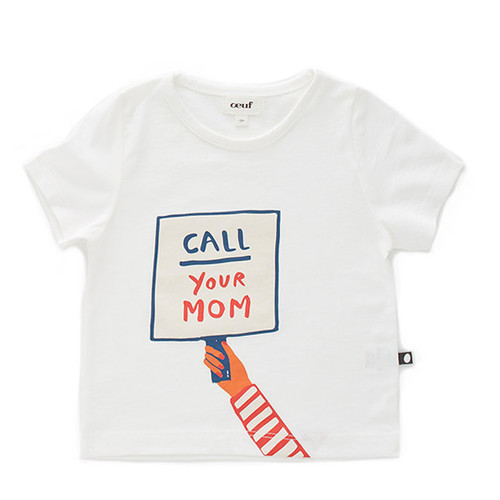 Oeuf Call Your Mom Tee