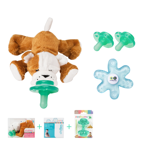 Bull Dog Shakies Pacifier Gift Set