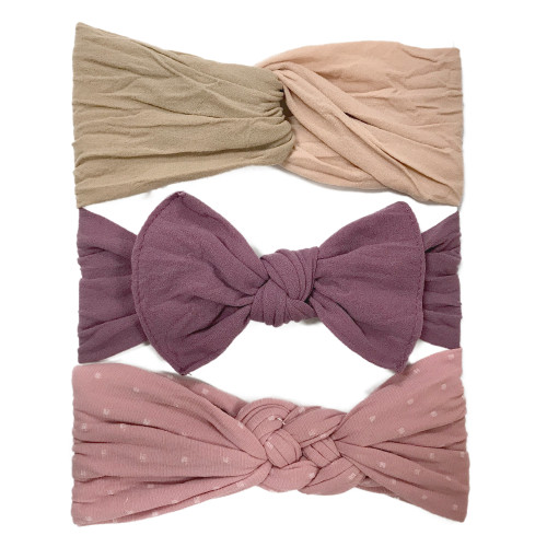 Bow Set, Natural Collection