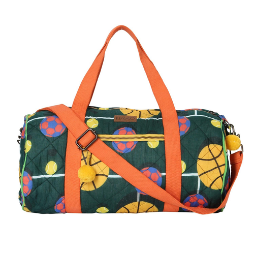 Balls Up Quilted Duffle Bag