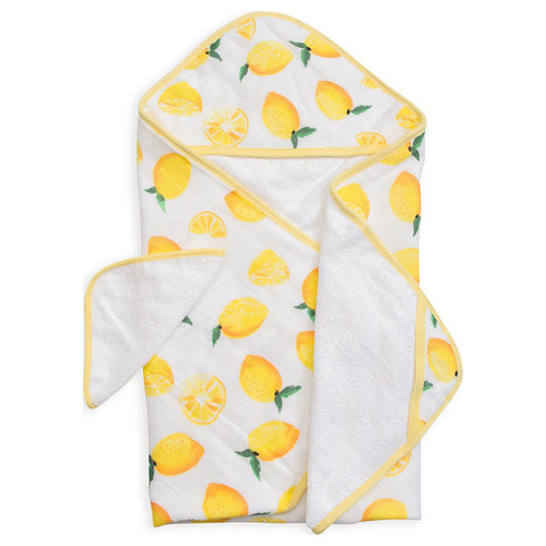 Hooded Towel Set, Lemon