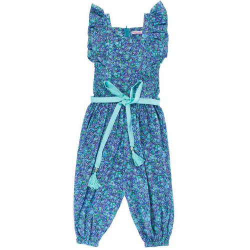 Wilde Jumpsuit, Blue Wild Flower