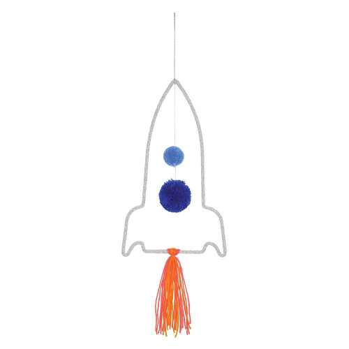 Space Rocket Wall Decoration