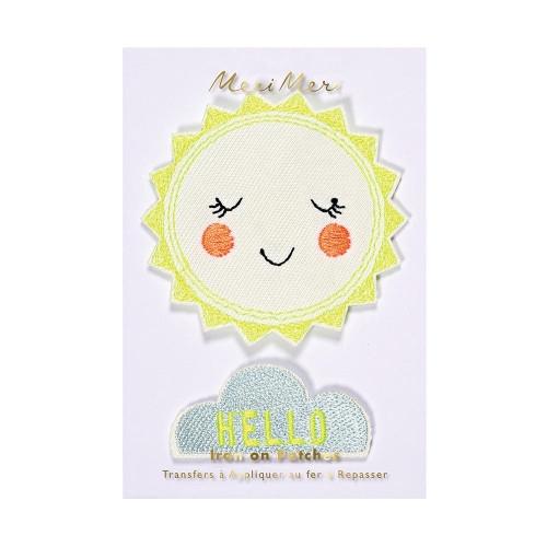 Hello Sunshine Iron-On Patches