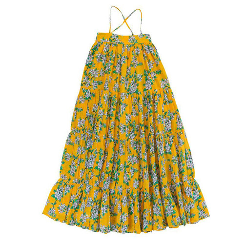 Margaux Dress, Saffron Almond Blossom