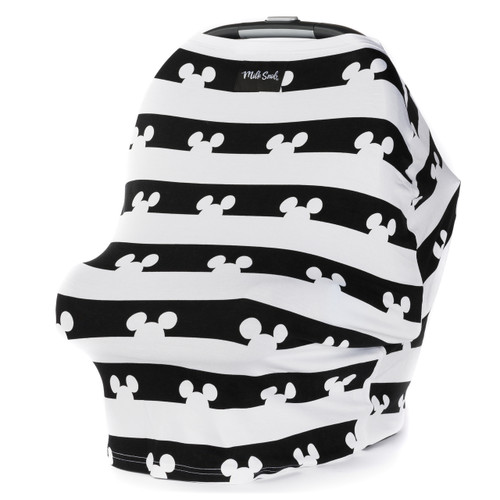 Milk Snob Car Seat Cover, Mickey Mouse