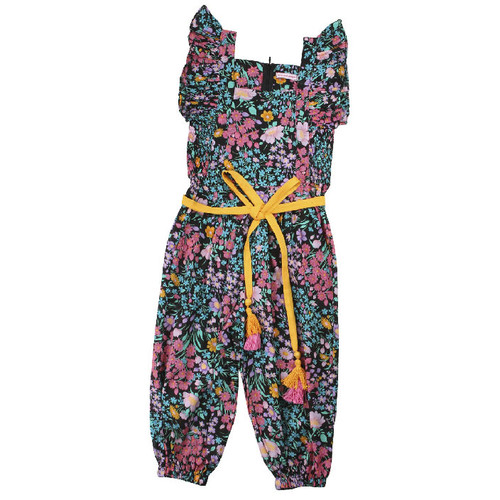 Wilde Flower Jumpsuit, Gypsy Black