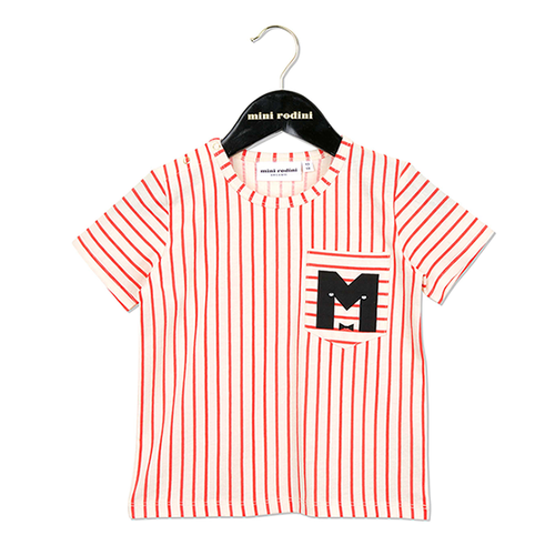 Mini Rodini SS Tee, Red