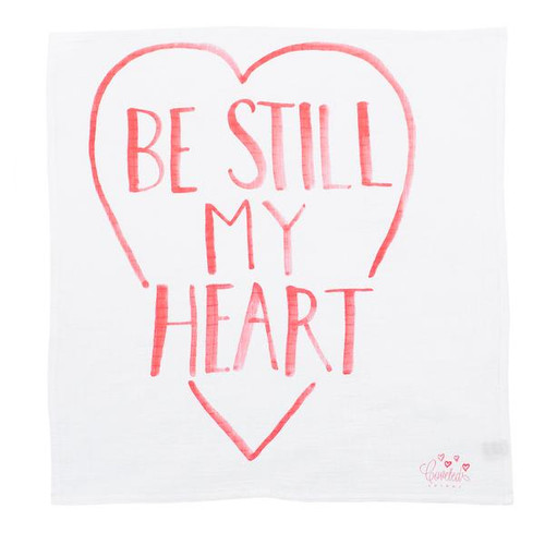 Be Still My Heart Organic Swaddle Scarf™