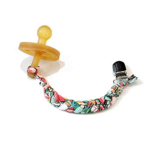 Softy Pacifier Clip, Liberty London