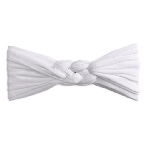 Sailor Knot Bow, White Dot
