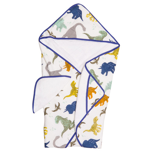 Hooded Towel Set, Dino Friends
