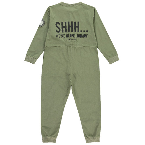 Boiler Suit, Army Green Library