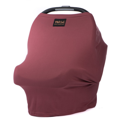 Milk Snob Luxe Car Seat, Ash Rose