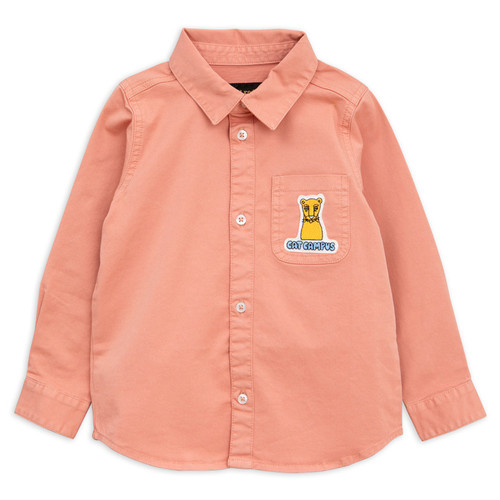 Mini Rodini Campus Cat Woven Shirt