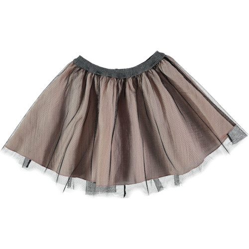 Ballet Girls Mesh Skirt, Soft Pink